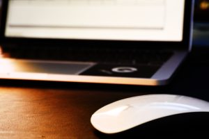 Picture of Laptop and mouse